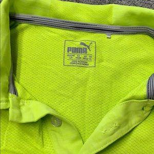 Puma Shirts - Puma green large Dry Cell T shirt